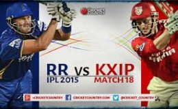 RR Vs Punjab Kings