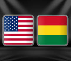 USA Vs Bolivia